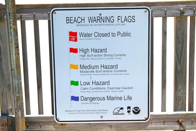 Florida Beach Warning Flags   The Beach Review