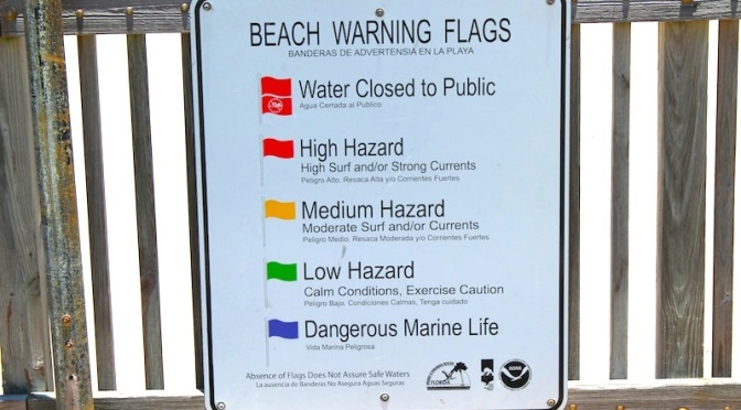 Florida Beach Warning Flags