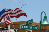 The town center meets at El Mar Drive and Commercial Boulevard. For any holiday, LBTS is very festive.