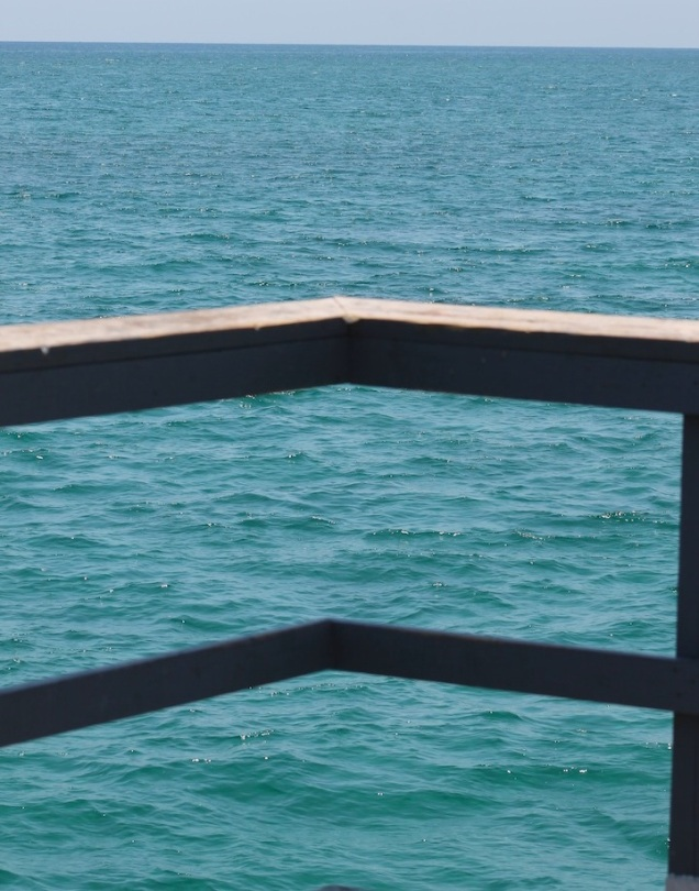 atlantic ocean fishing pier florida