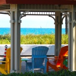 lauderdale by the sea florida gazebo adirondack chairs